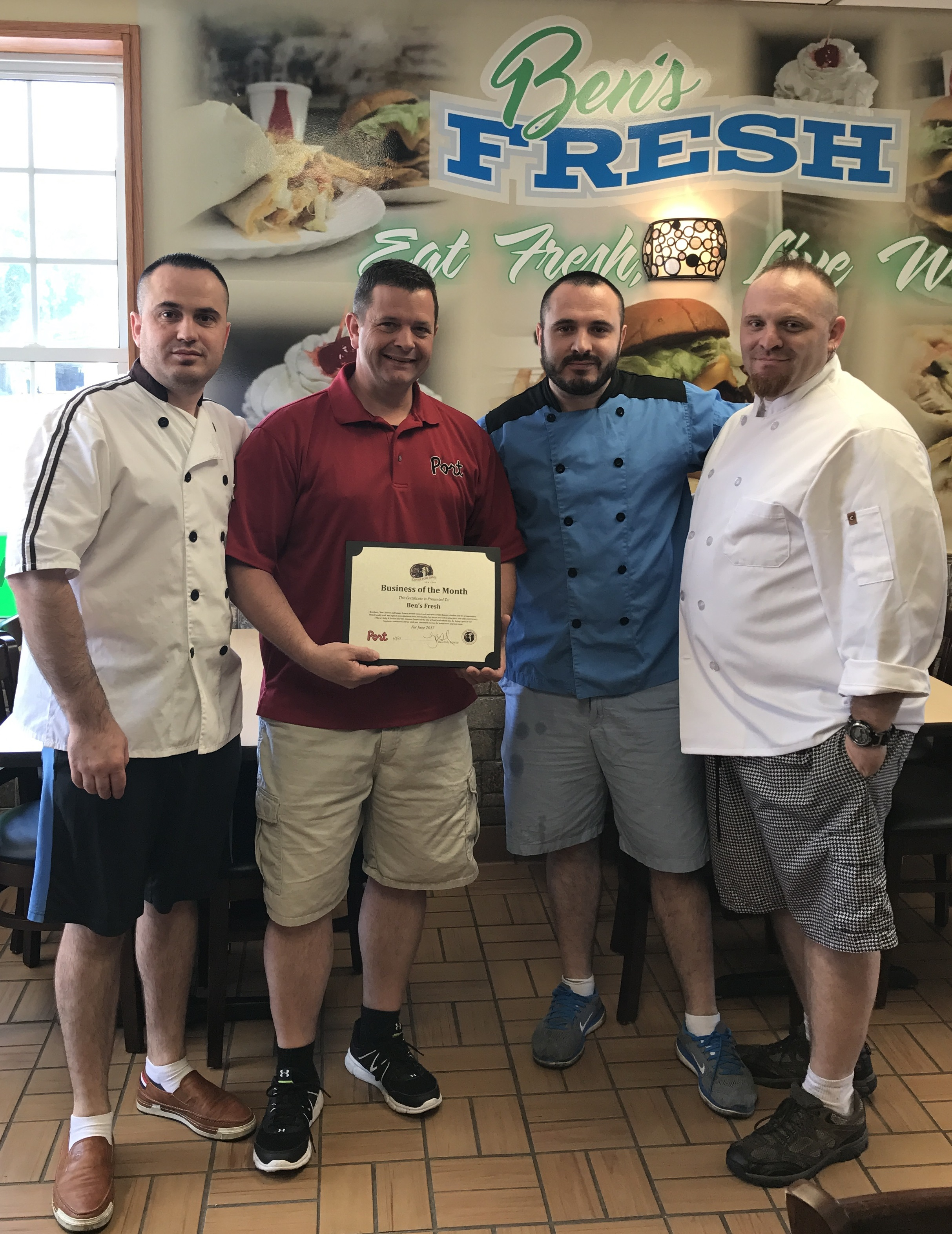 Ben's Fresh – 2017 June Business of the Month