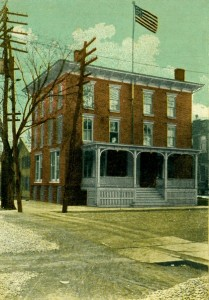 City of Port Jervis NY Old City Hall Sussex and Hammond Street early 1900s