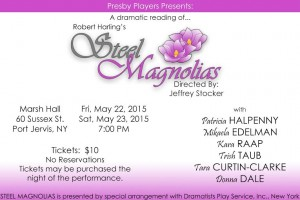 Steel Magnolias Presby Players