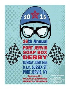 2015 Port Jervis NY Soap Box Derby