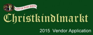 2015 Christkinkmarkt Vendor Application Header